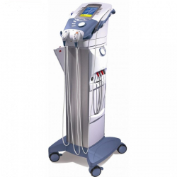 Vacuum therapy unit for INTELECT ADVANCED on a trolley