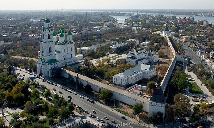 Город Астрахань. Астраханский кремль