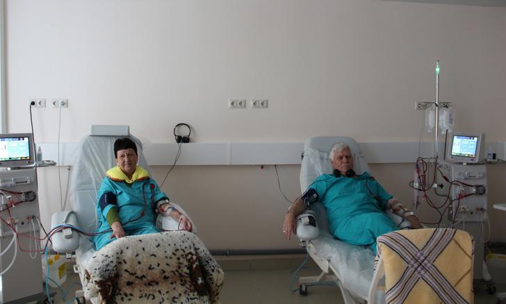Пациенты гемодиализного центра в Заинске