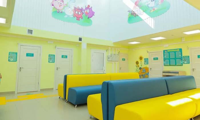 Детское отделение поликлиники №6 города Улан-Удэ