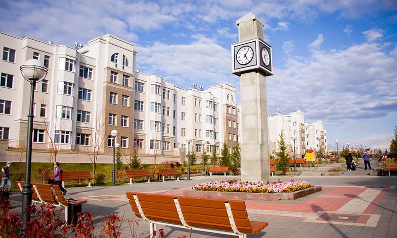 Кемерово - административный центра Кузбасса